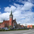 Gdansk railway station - Stock Photo