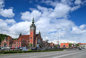 Gdansk railway station — Stock Photo