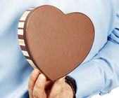 Heart gift — Stock Photo