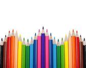 Sada barevné tužky — Stock fotografie