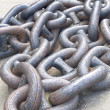 Anchor chains — Stock Photo