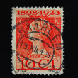 Wilhelmina of the Netherlands pstage stamp — Stock Photo #6312706