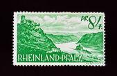 Duitse postzegel — Stockfoto