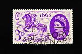 英国邮票 — 图库照片