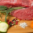 Stock Photo: Red meat