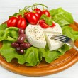 Fresh cheese — Stock Photo