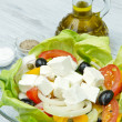 Stock Photo: Feta salad