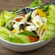 Feta salad — Stock Photo