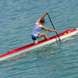 Stock Photo: Rower trainig