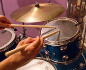 Drum kit — Stock Photo