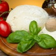 Pizza ingredients — Stock Photo