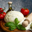 Stock Photo: pizza ingredients