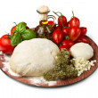 Pizza ingredients - Foto Stock
