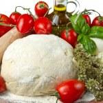 Pizza ingredients — Stock Photo #5782405
