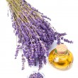 Lavender oil - Stock Photo