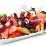 Octopus salad — Stock Photo #6037206