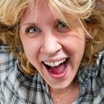 Girl screaming — Stock Photo #6052944