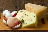 Mixed cheese — Stock Photo