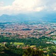 City of Turin skyline panorama seen from the hill — Stock Photo
