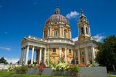 Basilica di Superga church — Stock Photo