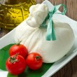 Burrata - Stock Photo