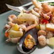 Seafood Salad - Stock Photo