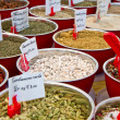 Spices in market — Stock Photo
