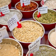 Spices in market - Stock Photo