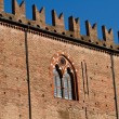 Ducal palace in Mantua - Stock Photo