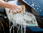 Car wash — Stock Photo