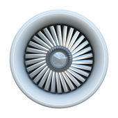 Jet engine — Foto Stock