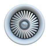Motor de jet — Foto de Stock