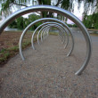 Bike rack — Stock fotografie