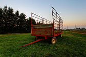 Steel wagon — Stock Photo