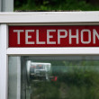 Telephone booth - Stock Photo