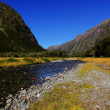 Mountain Landscape in New Zealand — Stock Photo #5989465