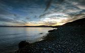 Glacier lake — Stock Photo