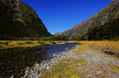 Mountain Landscape in New Zealand — ストック写真