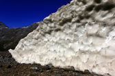 Glacier ice — Stock Photo