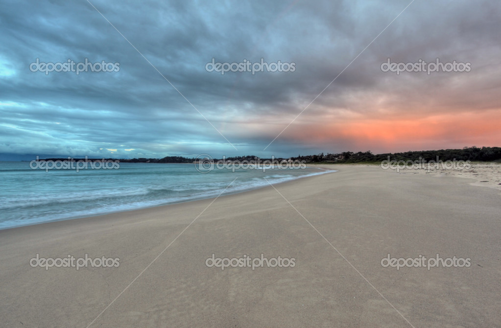 Tranquil beach postcard scene — Stock Photo #5989099