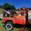 Stock Photo: Rustic red truck