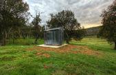 Toilet in the bush — Stock Photo