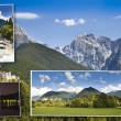Stock Photo: Postcard from Slovenia mountains