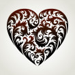 Vector Heart - Stock Photo