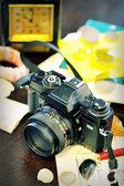 ビンテージ カメラ — ストック写真