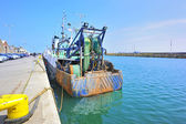 Fish boat in Howth Ireland — Foto Stock