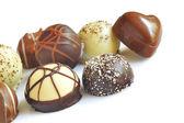 Chocolate candy variety — Stock Photo
