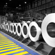 Rolls of steel sheet -  