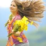 Girl in nature — Stock Photo #6647963