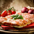 Pizza Margherita — Stock Photo #5538905